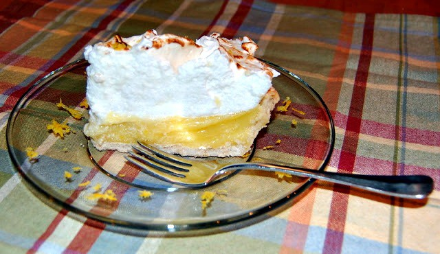 Lemon Meringue Pie - the perfect combination of tart and sweet topped with a beautiful meringue!