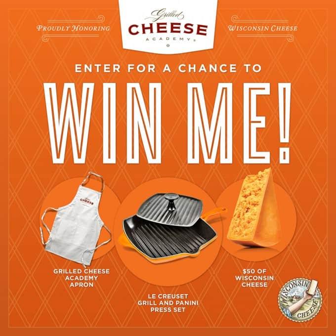 2015 Grilled Cheese Recipe Showdown FB contest!