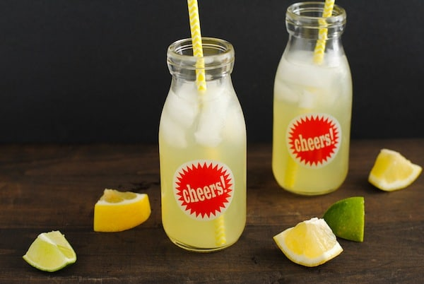 Agave Lime Lemonade