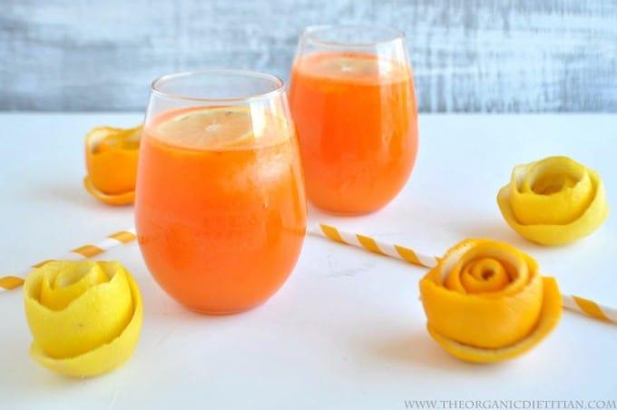 Carrot Orange Lemonade
