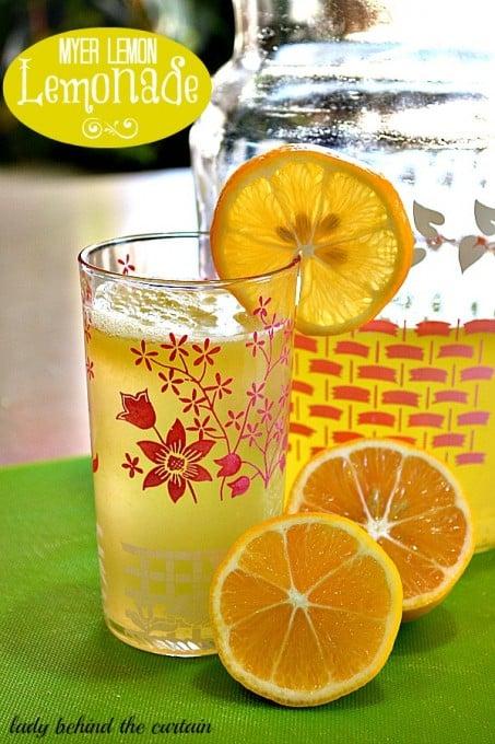 Meyer Lemon Lemonade