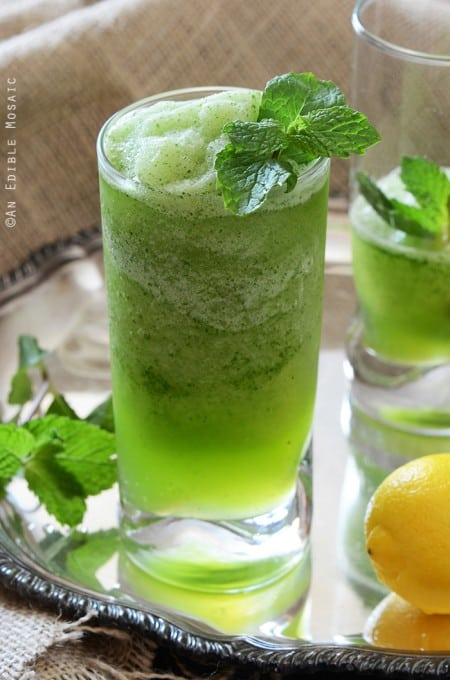 Limonana Middle Eastern Frozen Mint Lemonade