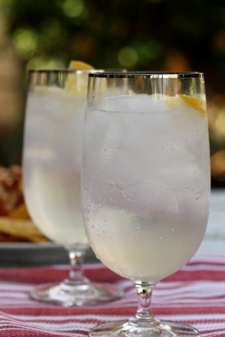 Meyer Lemon Tom Collins