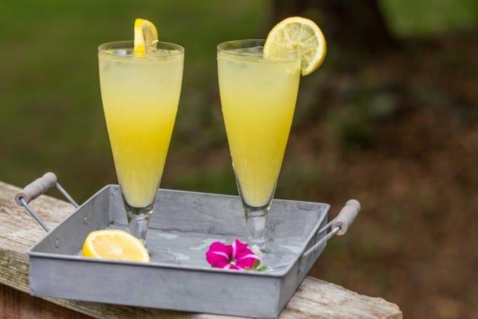 Homemade Mango Lemonade
