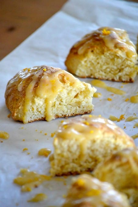 Blood Orange Marmalade Scones - made with Golden Door Blood Orange Marmalade, they're perfect with afternoon tea!