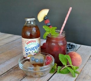 Snapple Lady LiberTEA, Raspberry Syrup, and Club Soda make the perfect summertime punch!