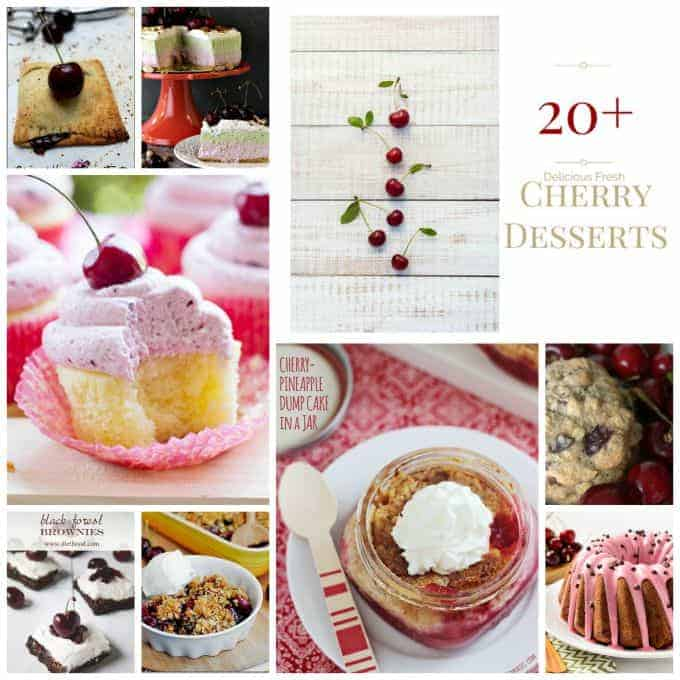 20 Fresh Cherry Desserts 365 Days Of Baking And More
