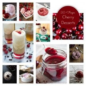Frozen Cherry Desserts