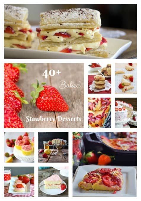 40+-Baked-Strawberry-Desserts-Pinterest