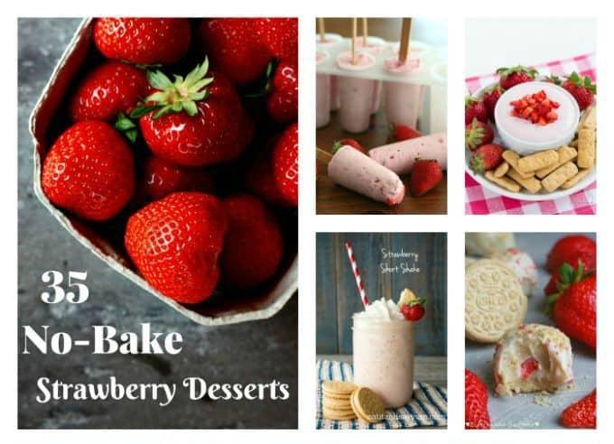 35 No-Bake Strawberry Desserts