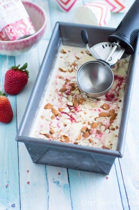 Strawberry-Jam-Toasted-Almond-Swirled-Ice-Cream