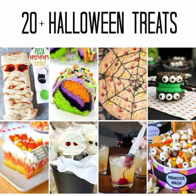 More than 20 Halloween treats to feed your ghosts and goblins. There's something for everyone!
