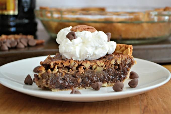 That all-time favorite pecan pie made into an even better dessert with Kahlúa and chocolate!
