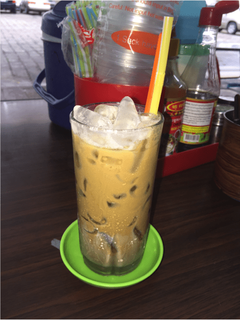 how to make iced coffee with sweetened condensed milk