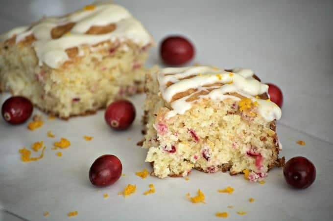 Fresh cranberries and oranges give this easy coffee cake delicious flavor that will be ready for your table in no time.