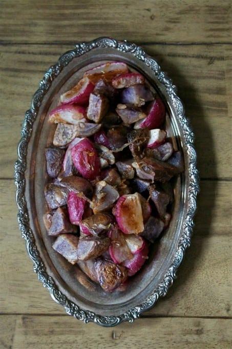 Roasted+Radishes+&+Potatoes+#foodbymars+#vegetables+#sidedish+#recipe