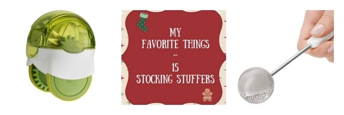 Holiday gift giving ideas for stockings or hostess gifts!