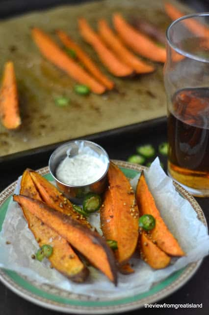 Sweet-Potatoes-with Lemongrass-Dip