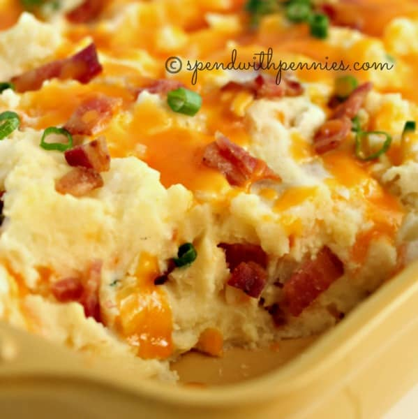 Loaded Twice Baked Potato Casserole – Spend with Pennies