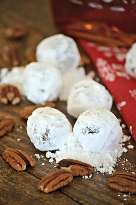 Cocoa powder and bourbon are just two of the flavors that combine to make these No-Bake Chocolate Bourbon Balls the perfect treat for any holiday occasion.