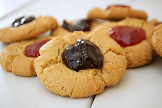 ... preserves. It's a peanut butter and jelly sandwich in cookie form