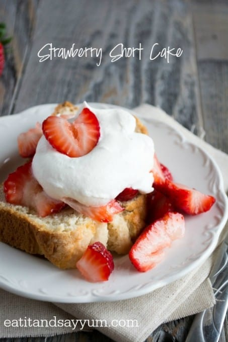 Strawberry Short Cake- perfect for Spring and Summer