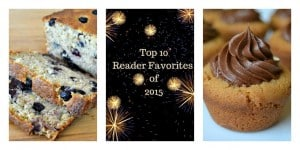 Here are the Top 10 Reader Favorites of 2015 for 365 Days of Baking and More!