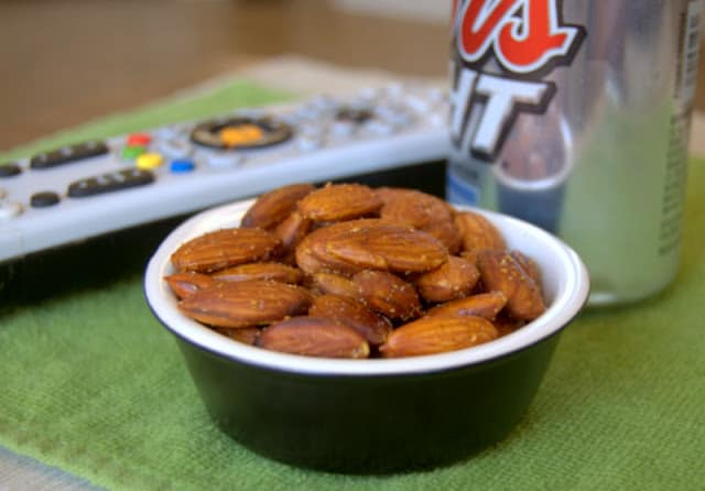 Baked Spiced Almonds
