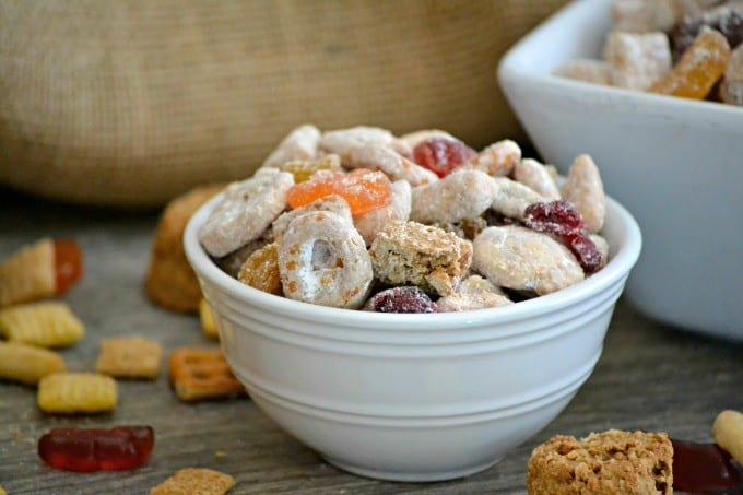 This Cookie Butter Snack Mix is a combination of fun snacks that you'll feel good about serving your kids and they'll enjoy eating it!