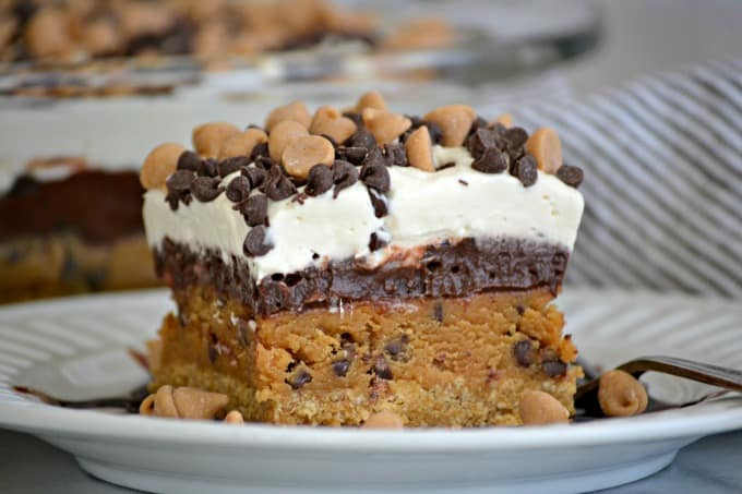 Peanut Butter Cookie Dough Dream Bars
