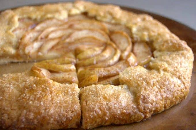 Cinnamon Pear Galette