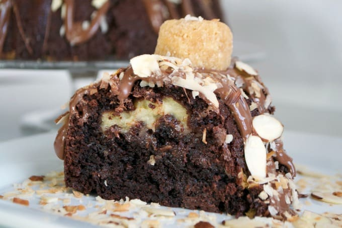 Image Result For Bundt Chocolate Cake With Coconut Filling