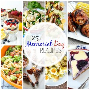 With these 25+ Recipes for Memorial Day you'll have everything you need to make your Memorial Day gathering a success!