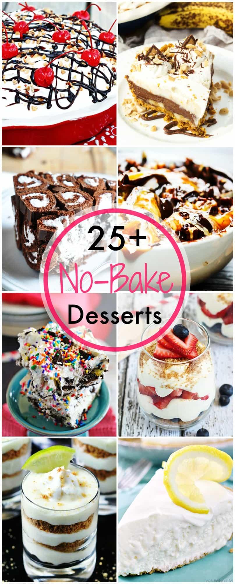 More Than 25 No-Bake Desserts
