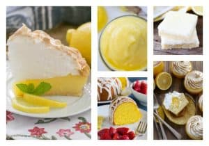 Out of This World Lemon Desserts