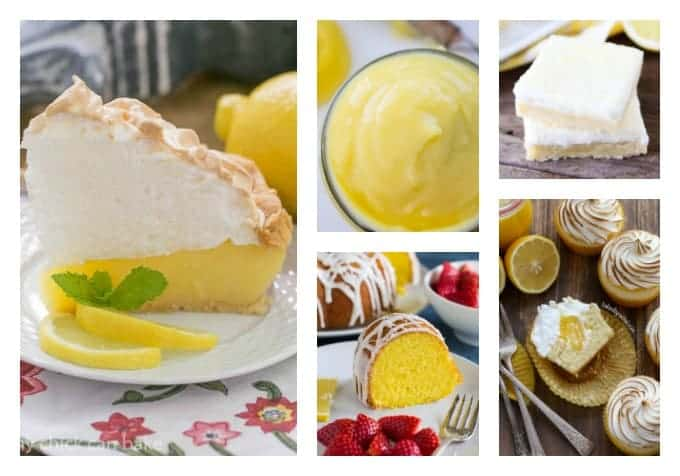 Over 60 lemon desserts to tickle your fancy. There's sure to be something for everyone!