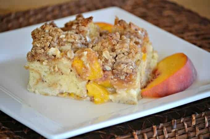 Easy Peaches Cream Baked French Toast Recipe 365 Days Of Baking