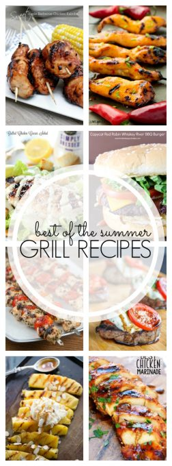 Fire up that grill and make these 25+ Best of Summer Grill Recipes. They're perfect to help get you through the dog days of summer!
