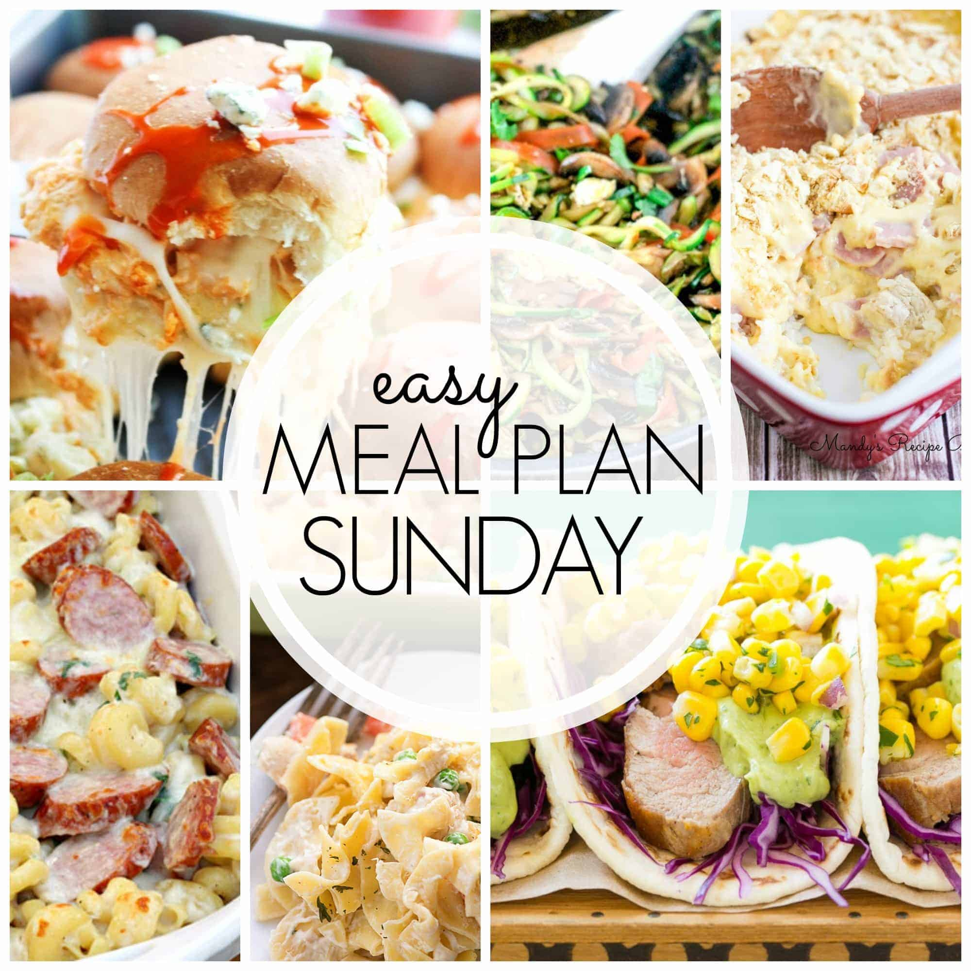 With Easy Meal Plan Sunday {Week 56}, these six dinners, two desserts and a breakfast recipe will help you remove the guesswork from this week's meal planning. Enjoy!