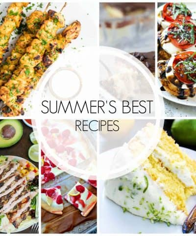 Even though summer may be over, it doesn't mean that you can't continue to enjoy summer's best recipes from some of your favorite bloggers.