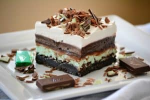 Chocolate Mint Dream Bars
