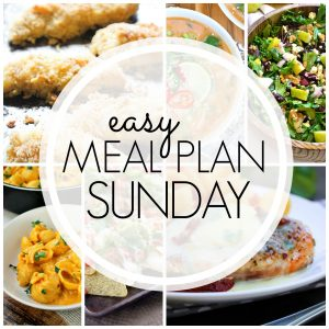 Easy Meal Plan Sunday {Week 66} – these six dinners, two desserts and a breakfast recipe will help you remove the guesswork from this week's meal planning. Enjoy!