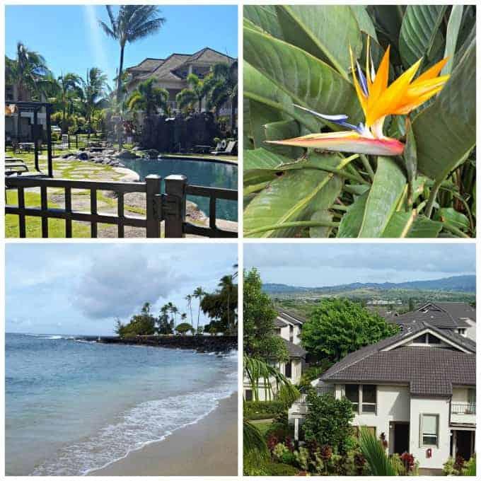 Views at The Villas at Poipu Kai on Kauai, HI