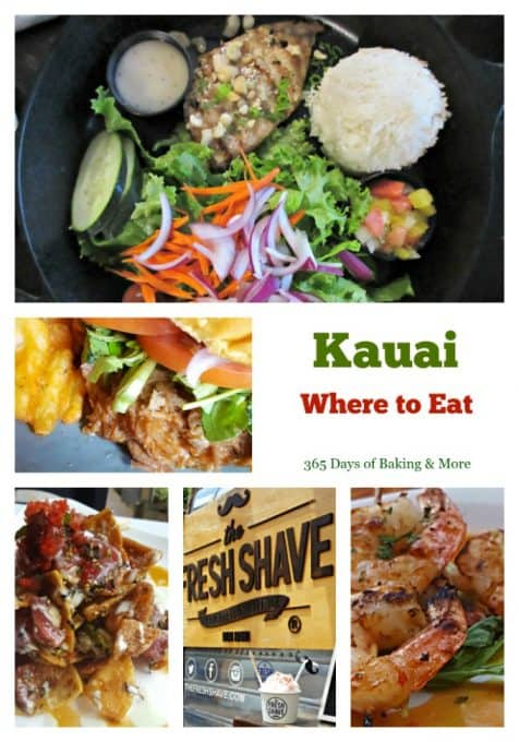 Here's where to eat in Kauai - a list of the places we ate while on vacation and the food that really made me all warm and fuzzy inside!