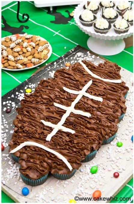 football-pull-apart-cupcakes