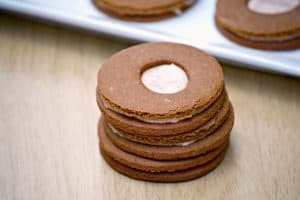 Cream-Filled Molasses Cookies