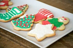 Jackie's Vanilla Cut-Out Sugar Cookies