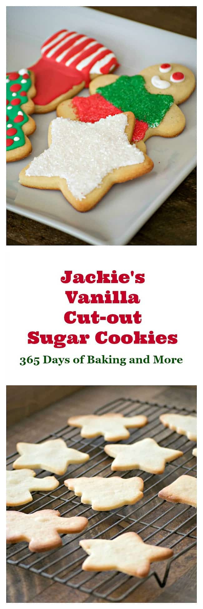 Jackie's Vanilla Cut-Out Cookies are tasty sugar cookies from the Cookies for Kids' Cancer Cookbook and I baked them in my De'Longhi Livenza Oven.