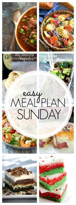 With Easy Meal Plan Sunday Week 77 - six dinners, two desserts and a breakfast recipe will help you remove the guesswork from this week's meal planning.