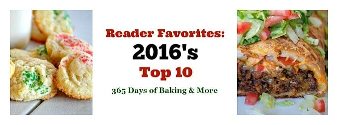 Here are the Reader Favorites: 2016's Top 10. I'm excited to bring you a compilation of the recipes you most enjoyed this past year.